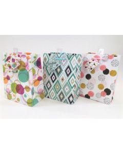Medium Gift Bags ~ Circles & Diamonds