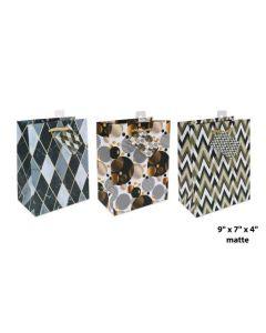 Medium Gift Bag ~ Geometric & Circles