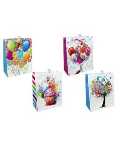 Large Gift Bags ~ Birthday No Writing