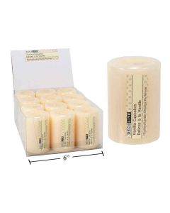 "Pillar Candle - 2"" x 3"" - Vanilla Cupcakes ~ 12 per display"