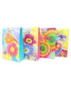 Jumbo Gift Bags ~ Bright Flowers