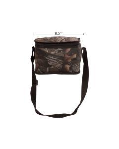 Insulated Camo Cooler Bag ~ 6 Tin