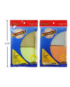 Action-1 Dish Sponges ~ 2 per pack