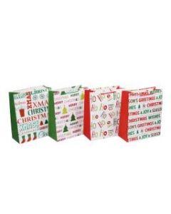 Christmas Large Gift Bag ~ Merry Christmas / Glitter