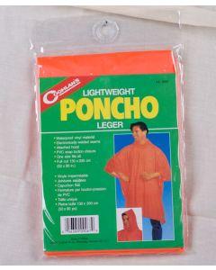 Coghlan's Lightweight Poncho ~ Orange