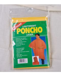 Coghlan's Lightweight Poncho ~ Yellow