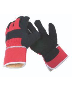 Winter Work Glove w/Fleece Lining