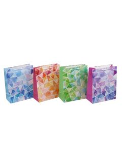 Large Gift Bags ~ Glitter Geometric