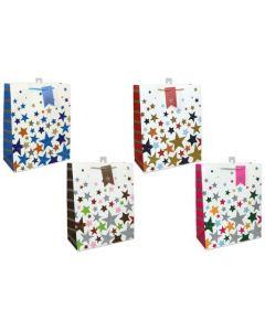 Large Gift Bags ~ Glitter Stars
