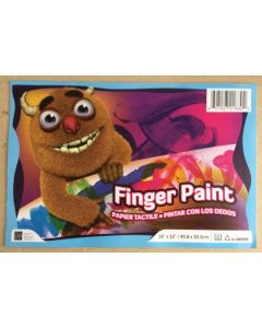 """Finger Painting Pad - 18"""" x 12"""" ~ 30 sheets"""