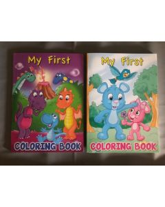 My First Coloring Books