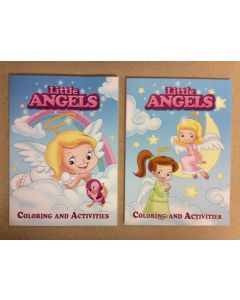 Little Angels Coloring Book