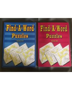 Find-A-Word Puzzle Books