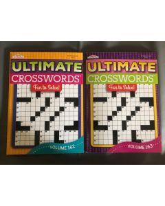 Ultimate Crossword Puzzle Book