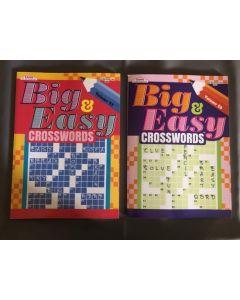 Big & Easy Crossword Puzzle Book