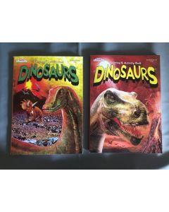 Gigantic Dinosaur Fun Coloring Books