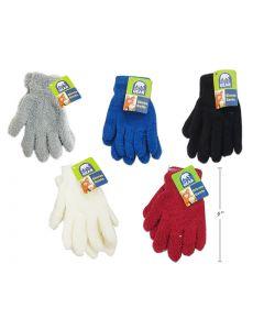Ladies Solid Color Cozy Gloves