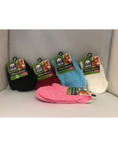 Kid's Solid Color Cozy Mittens ~ Size 3-6