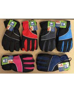 Kid' Insulated Ski Gloves ~ Size 7-14