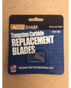 AccuSharp Knife & Tool Sharpener Replacement Blades - One Set