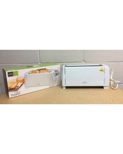 Long 4-Slice Toaster ~ White