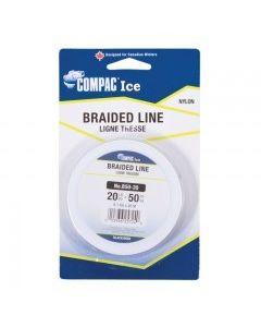 Black Braided Line 20lb ~ 50 yard spool