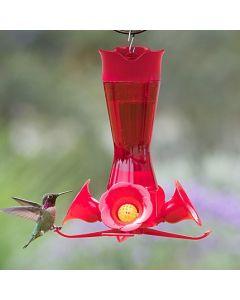 Perky-Pet Glass Pinch Waist Hummingbird Feeder
