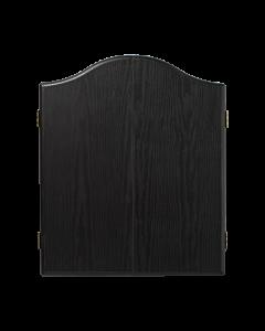 Plain Black Dartboard Cabinet