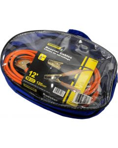 ShopPro Booster Cables, 10G ~ 12'