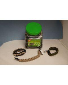 Coghlan's Paracord Bracelet ~ Bowl of 24