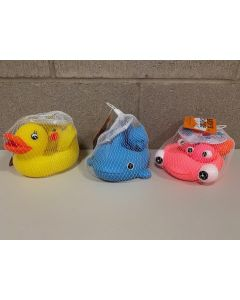 Baby's Choice Rubber Bath Toy Family