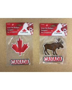 Canada Iron-On Badges