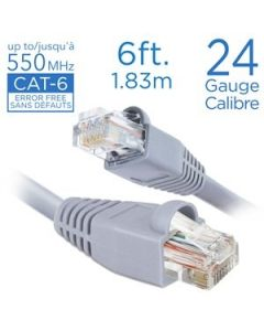 Straight Patch Cable - Cat 6 ~ 6'
