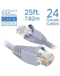 Straight Patch Cable - Cat 6 ~ 25'