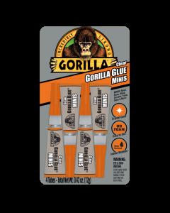 Gorilla Glue Minis - Clear ~ 4 x 3gr Tubes