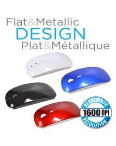 Wireless Flat Optical Mouse