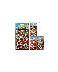 Woody's Puffy Stickers ~ Sports