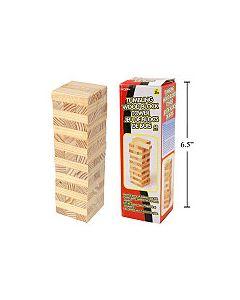 Tumbling Wood Block Tower ~ 48 pieces
