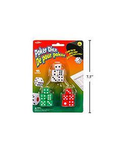 Poker Dice ~ 15 per pack