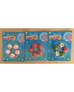 Sports Hi Bounce Balls ~ 5 per pack
