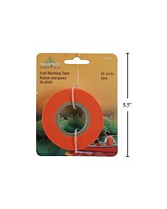 Trail Marker Tape ~ Glow Orange - Packaged