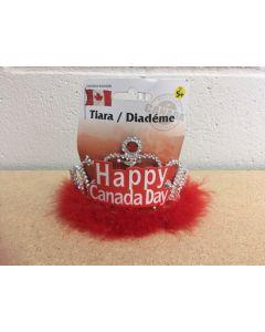 """HAPPY CANADA DAY"" Tiara"