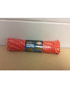 """Poly Rope ~ 50' x 3/8"""" ~ Red"""