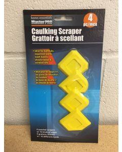 Caulking Scrapers ~ 4 per pack