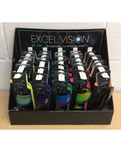 Excel Vision Adult's Sunglasses w/Case
