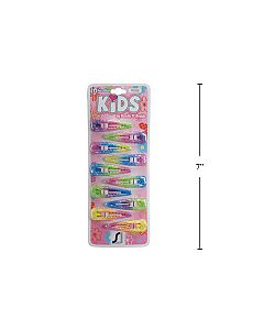 Kid's Snap Barrettes - Pastel Colors ~ 10 per pack