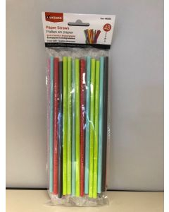 Paper Straws ~ 48 per pack