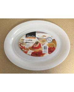 "Plastic Serving Platter ~ 18-1/2"" x 14"""