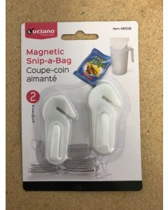Luciano Magnetic Snip-A-Bag ~ 2 per pack