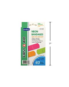 Neon Bandages ~ 40 per pack